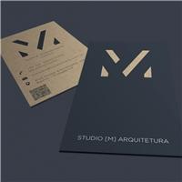 Studio M Arquitetura, Logo e Identidade, Arquitetura