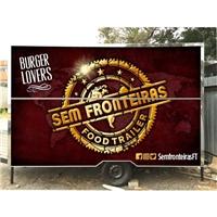 SEM FRONTEIRAS FOOD TRAILER, Peças Gráficas e Publicidade, Alimentos & Bebidas