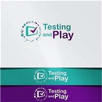 Testing and Play, Logo e Identidade, Tecnologia & Ciencias