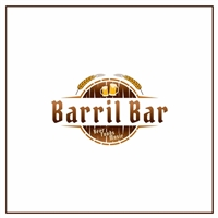 Barril Bar, Logo e Identidade, Alimentos & Bebidas