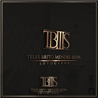 TBMS - TELES BRITO MENDES SILVA Advogados, Logo e Identidade, Advocacia e Direito