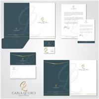 Dra. Carla Licurci, Logo e Identidade, Saúde & Nutrição