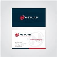 NETLAB COMERCIO DE PRODUTOS MEDICOS E LABORATORIAIS, Logo e Identidade, Saúde & Nutrição