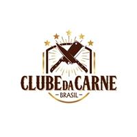 CLUBE DA CARNE BRASIL, Logo e Identidade, Alimentos & Bebidas