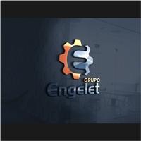 Grupo Engelet, Logo e Identidade, Construção & Engenharia