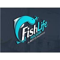 Fish Life Pescados, Logo e Identidade, Alimentos & Bebidas
