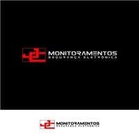 JC MONITORAMENTOS , Logo e Identidade, Segurança & Vigilância