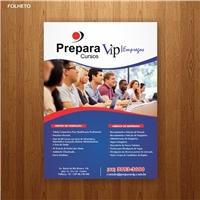 Prepara Cursos & Vip Empregos, Peças Gráficas e Publicidade, Educação & Cursos