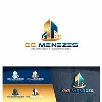 G G MENEZES CONSTRUTORA E INCORPORADORA DE IMOVEIS LTDA, Logo e Identidade, Construção & Engenharia