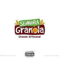 Senhora Granola, Logo e Identidade, Alimentos & Bebidas