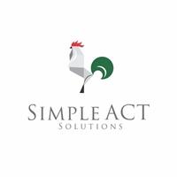 Simple Act Solutions, Logo e Identidade, Advocacia e Direito