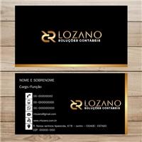 RR LOZANO SOLUÇÕES CONTABEIS, Logo e Identidade, Contabilidade & Finanças