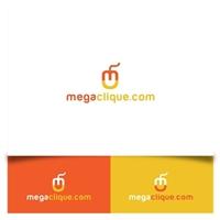 Megaclique.com, Logo e Identidade, Marketing & Comunicação
