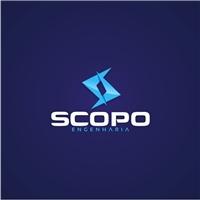 SCOPO ENGENHARIA, Logo e Identidade, Construção & Engenharia