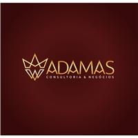 ADAMAS , Logo e Identidade, Consultoria de Negócios