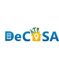 DE CASA, Logo e Identidade, Construção & Engenharia