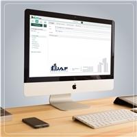 Construtora JAF, Logo e Identidade, Construção & Engenharia