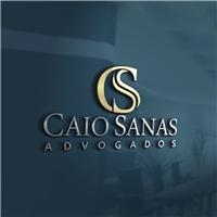 Caio Sanas Advogados, Logo e Identidade, Advocacia e Direito