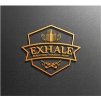 EXHALE, Logo e Identidade, Alimentos & Bebidas