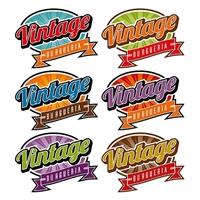 VINTAGE BURGUERIA, Logo e Identidade, Alimentos & Bebidas