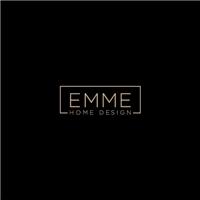 EMME Home Design, Logo e Identidade, Decoração & Mobília