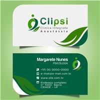 CLIPSI (Clínica Integrada Anastássia) , Logo e Identidade, Saúde & Nutrição