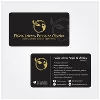 Flávia Leiroza - Nutricionista clinica e esportiva, Logo e Identidade, Saúde & Nutrição