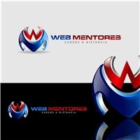 WEB MENTORES, Logo e Identidade, Educação & Cursos