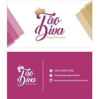 Tão Diva, Logo e Identidade, Roupas, Jóias & acessórios