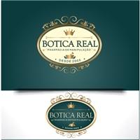 Botica Real - Farmácia de manipulacao , Logo e Identidade, Saúde & Nutrição