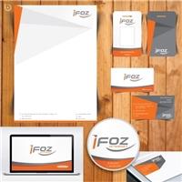 iFoz Internet, Logo e Identidade, Computador & Internet