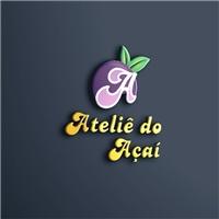 Ateliê do Açaí, Logo e Identidade, Alimentos & Bebidas