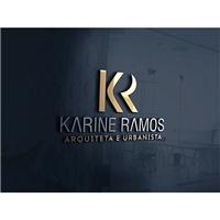 Karine Ramos - Arquiteta e Urbanista, Logo e Identidade, Arquitetura
