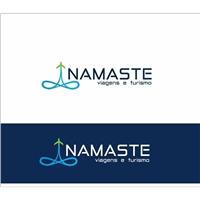 NAMASTE VIAGENS E TURISMO, Logo e Identidade, Viagens & Lazer