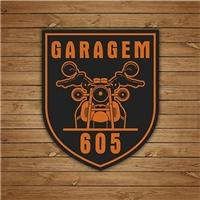 GARAGEM 605, Logo e Identidade, Alimentos & Bebidas