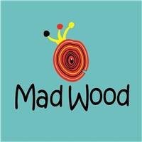 Mad Wood/ moveis em madeira para crianças, Logo e Identidade, Crianças & Infantil