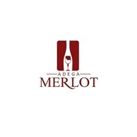 Adega Merlot, Logo e Identidade, Alimentos & Bebidas