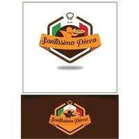 Santíssima Pizza, Logo e Identidade, Alimentos & Bebidas
