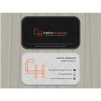 Cintia Hungaro - Designer de Interiores, Logo e Identidade, Arquitetura