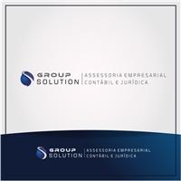 Group Solution Assessoria Empresarial Contábil e Jurídica, Logo e Identidade, Contabilidade & Finanças
