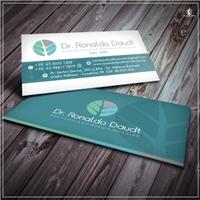 Dr. Ronaldo Daudt - Angiologia e Cirurgia Vascular, Logo e Identidade, Saúde & Nutrição