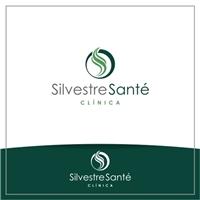 Clínica Silvestre Santé, Logo e Identidade, Saúde & Nutrição