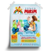 Espaço Mirim - Berçário e Educação Infantil, Peças Gráficas e Publicidade, Educação & Cursos