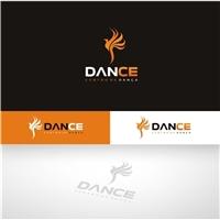 DANCE CENTRO DE DANÇA, Logo e Identidade, Artes, Música & Entretenimento