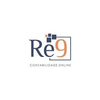 Re9 Contabilidade Online, Logo e Identidade, Contabilidade & Finanças