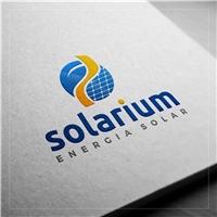 Solarium, Logo e Identidade, Metal & Energia