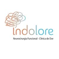 Indolore - Clínica de Dor - Neurocirurgia Funcional, Logo e Identidade, Saúde & Nutrição