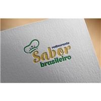 Restaurante Sabor Brasileiro, Logo e Identidade, Alimentos & Bebidas