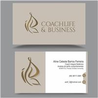 Coach life e business, Logo e Identidade, Consultoria de Negócios