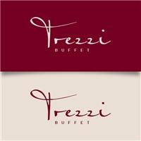 Trezzi Buffet ( Ou Gourmet), Logo e Identidade, Alimentos & Bebidas